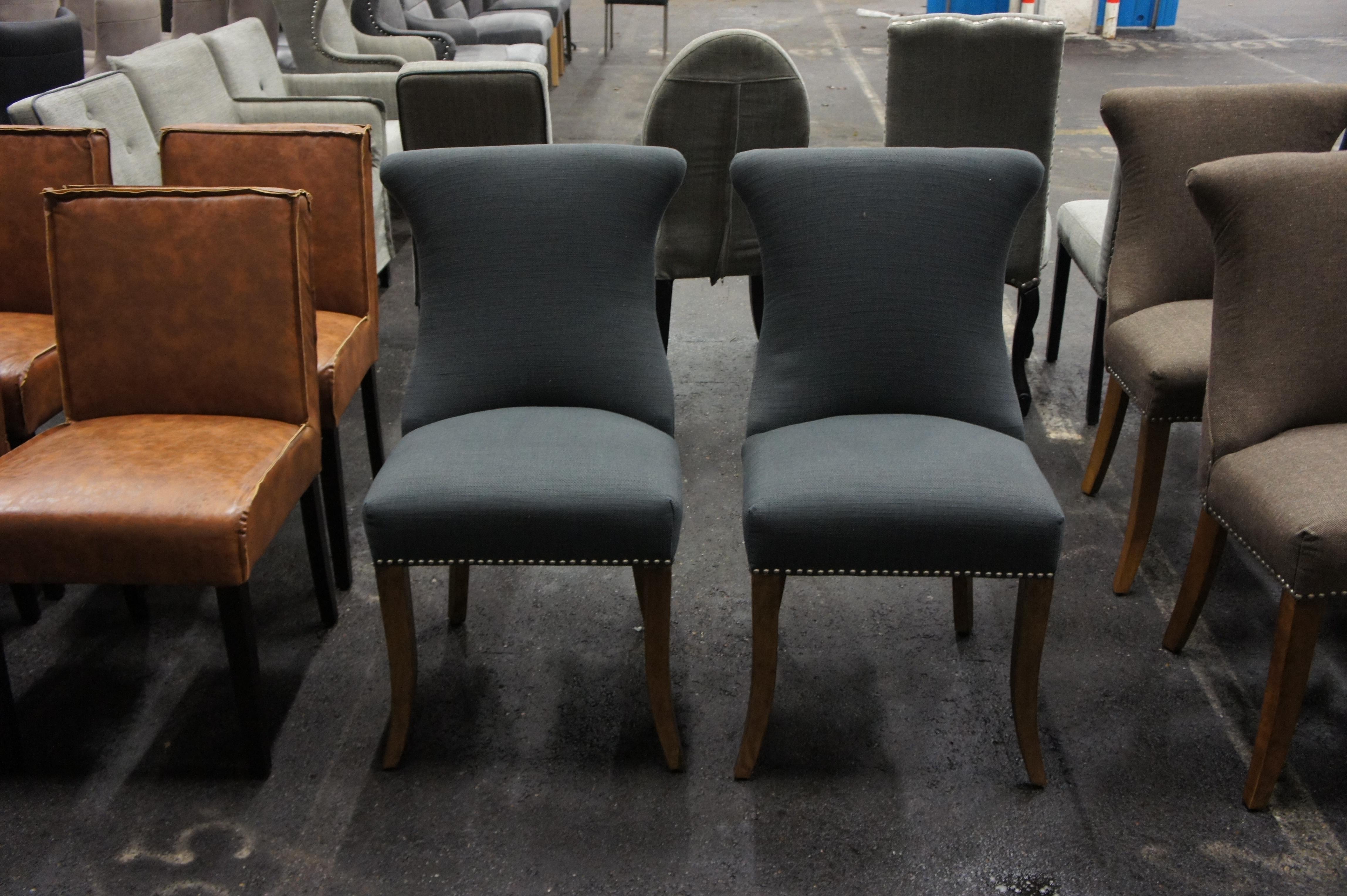 Eetkamer stoelen a veiling - Linnen stoel ...