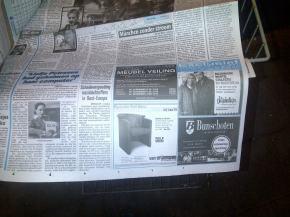 Advertentie Telegraaf 16.11.12